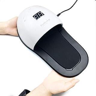 Lámpara 48W UV Profesional Secador De Uñas En Manicuras De Shellac Y Gel Con Temporizadores 30S,60S Y 99 Segundos