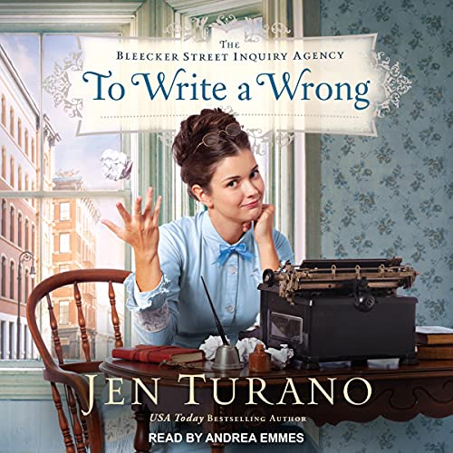 To Write a Wrong Audiobook By Jen Turano cover art