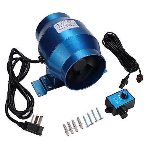 CHENGGONG Ventilador de conducto en línea Impermeable de conversión de frecuencia de Flujo Mixto y Ahorro de energía, Ventilador de ventilación de conducto de(Model 150 Exhaust Fan)
