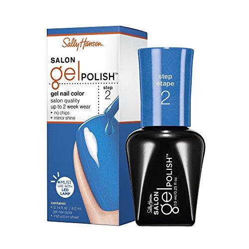 Sally Hansen Salon Pro Gel Nail Polish Lacquer, Blue My Mind, 0.24 Fl. Oz.