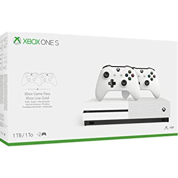 XBOX ONE S 1TB + 2 CONTROLLER - Essentials - Xbox One