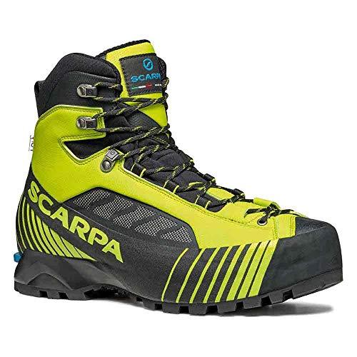 Scarpa RIBELLE Lite HD, Botas de montaña Hombre, Lime-Black Hdry ARG PENTAX Precision III, 40 EU