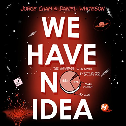 We Have No Idea audiobook cover art