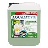 AQUALITY Gartenteich Grünwasser-EX (GRATIS Lieferung in DE - Besonders wirksam bei grünem Wasser, dauerhaft und schnell, grüne Schwebealgen, verhindert die Algenneubildung), Inhalt:2.5 Liter