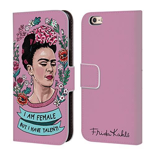 Head Case Designs Ufficiale Frida Kahlo Femminismo Arte E Citazioni Cover in Pelle a Portafoglio Compatibile con Apple iPhone 6 / iPhone 6s