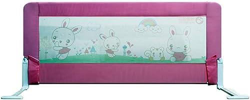 Laufgitter & -st e Krippe Leitplanke Baby Bruchsicher Zaun Größes Bett 1,2-1,5 Meter Kinder Gegen Bedside-Schallwand (Farbe   B, Größe   1.2m)