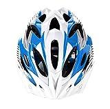 Acme - Casque sur Route de vélo de Montagne Ultra-léger avec Une visière pour Adulte Homme Femme Taille Réglable 54-62cm