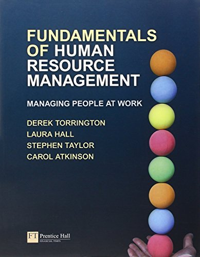 Fundamentals of Human Resource Management: Managing People at Work