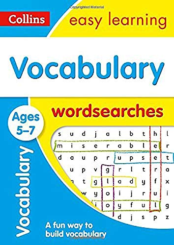 Vocabulary Word Searches Ages 5-7: Ideal for home learning (Collins Easy...