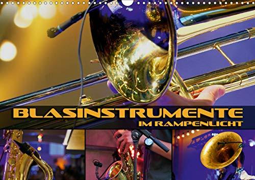 Blasinstrumente im Rampenlicht (Wandkalender 2021 DIN A3 quer)