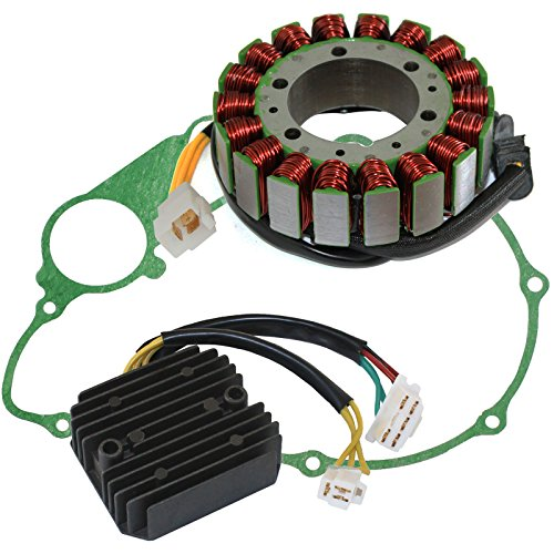 Caltric Stator & Gasket & Regulator Compatible With Honda Vt700C Vt-700C Shadow 700 1984 1985