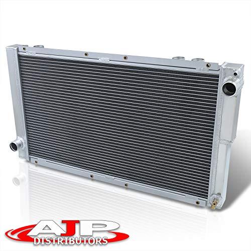 AJP Distributors For Subaru WRX GC8 M/T w/STI Turbo Engine Swap Aluminum Racing Dual Core Radiator (Does Not Fit Stock)