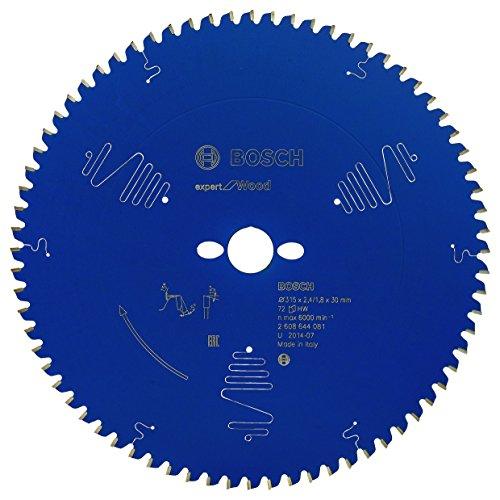 BOSCH 2608644081 - Disco de sierra circular CSB Expert madera: 315x30x72D neg