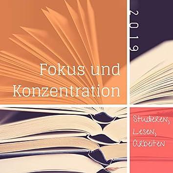 Fokus und Konzentration 2019: Studieren, Lesen, Arbeiten