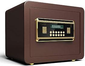 JJYPY Digital Password Safe, Digital Security Safe Box Electronic Cabinet Steel Construction, Great for Home Office Hotel ...