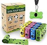 Yingdelai Bolsas biodegradables para excrementos de perros, 340...