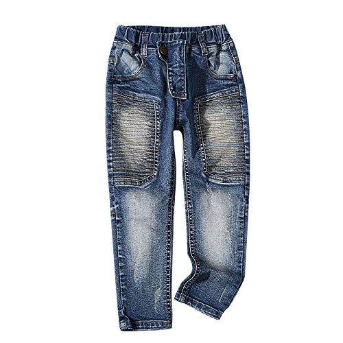 nobrand Pantaloni di Jeans per Bambini Neonati Jeans Abbigliamento per Bambini