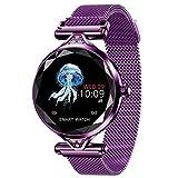 TCYLZ H1 - Reloj inteligente para mujer, para deportes al aire libre, con monitor de oxígeno y presión arterial, contador de calorías/pasos, para Android e iOS