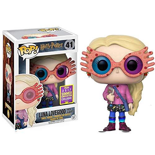 Funko Pop! Luna Lovegood, Luna con Gafas Figura de Vinilo Modelo de decoración Versión Q,#41