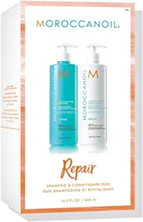 Moroccanoil Moisture Repair Shampoo & Conditioner Duo (2x500ml) (Worth £67.60)