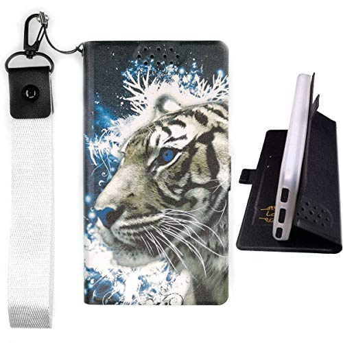 "Lovewlb Case for Assurance Wireless Ans Ul40 4"" Cover Flip PU Leather + Silicone case Fixed LH"