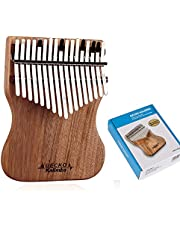 DishyKooker Kalimba duimpiano vinger percussie muziekkamfer instrument (Paper Box)
