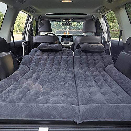 N\A ZT Inflatable SUV Car Air Mattress Durable Car Back Seat Cover Car Air Mattress Travel Bed Moisture-Proof Camping Mattress,Inflatable Mattress Car Car Inflatable Mattress Bed (Size : SUV Black)