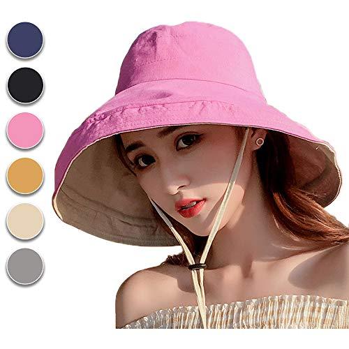 Anaoo Sombrero Mujer Gorra Verano Sombrero Pesca Sol
