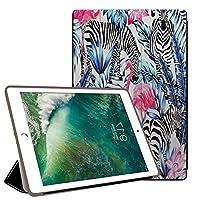 PRINDIY iPad pro 9.7 2016/iPad Pro 保護カバー,耐久性 耐衝撃 3つ折り スタンド機能付き PC + PUレザー 傷防止 三つ折 スタンドケース iPad pro 9.7 2016/iPad Pro Case-B 77