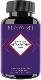 NAOMI Organic Astaxanthin, 30 Count