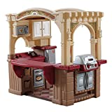 Step2 Grand Walk-In Kitchen & Grill | Large Kids Kitchen Playset Toy |...