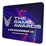 Game Awards 2020 Mouse Pad with Stitched Edges, Texture Mouse Pad, Non-Slip Rubber Base Mouse Pad