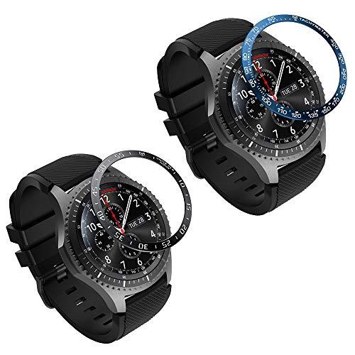 MoKo Ghiara Orologio in Acciaio Compatibile con Samsung Galaxy Watch 46mm/Gear S3 Frontier/Gear S3 Classic,...