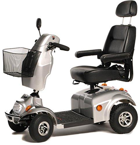 Freerider City Ranger 8 Klasse 3 4 Wiel Mobility Scooter - Zilver