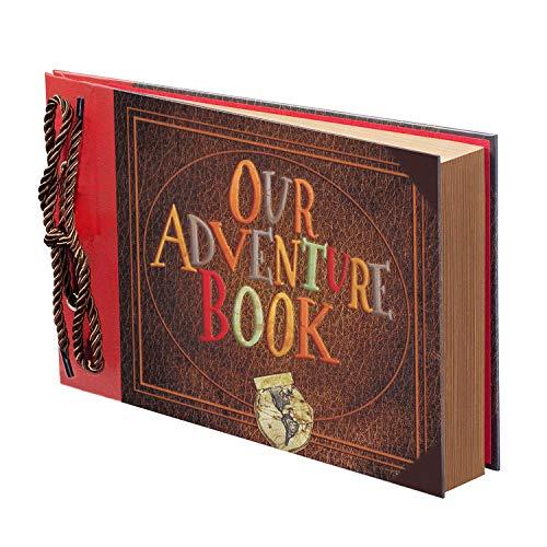 Scrapbook Photo Book, Our Adventure Book, Adventure Book, Adventure...