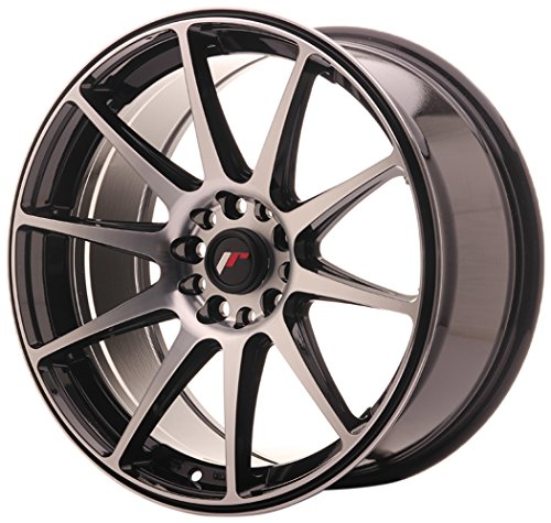 Japan Racing JR11 Black Machined - 18x8.5 ET40 5x112/5x114.3 Llantas de aleación (Competición)