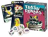 Gamewright CSG Trash Pandas Tarjeta de Juego, Multicolor