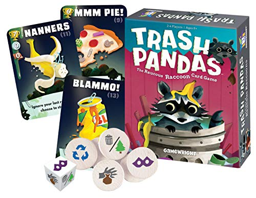 Gamewright Trash Pandas - The Raucous Raccoon Card Game 252 for 7.69