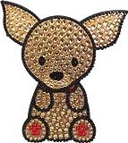 Love Your Breed Rhinestone Sticker, Chihuahua