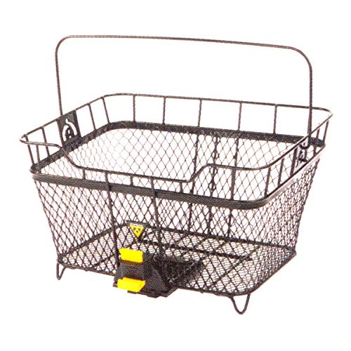 Topeak Fahrradkorb MTX Basket Rear, Black, One size