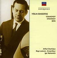 Tchaikovsky, Stravinsky, Berg: Violin Concertos (2010-03-16)