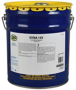 Zep Dyna 143 Parts Washer Solvent 36635 5 Gallon (1 Bucket) Designed for use in Parts Washer, Dyna Clean, Dyna Brute FB, Super Brute FB, Brake Buggy and Dyna Mate (for Business Customers Only) from Zep