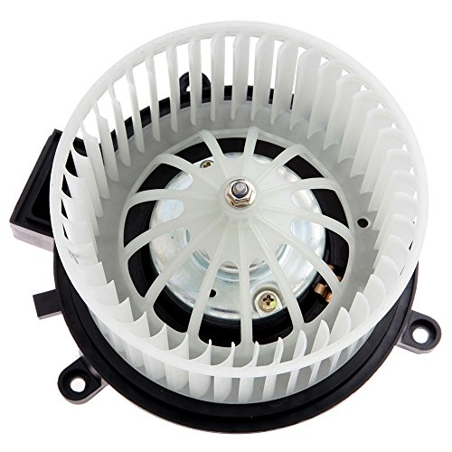 ECCPP HVAC Plastic Heater Blower Motor for Dodge ABS Blowers Motors w/Fan Cage Rear fit for 01-16 for Chrysler for Town Country /01-07 for Dodge for Caravan /01-16 for Dodge for Grand Caravan