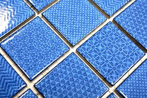 Mosaikfliese AQUABLAU BAD Pool Fliesenspiegel Dusch Badezimmerfliese MOS16-0404_m