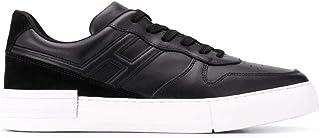 Hogan Scarpe da Uomo Rebel HXM5260DD20IHTB999 H5260 Sneakers Sportive Ginnastica in Pelle Nere Nuove Calzature Casual Comf...