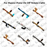 Lysee Mobile Phone Flex Cables - KiKiss For Huawei Honor 6 6 Plus 7 7i 8 9 9i 10 V8 V9 V10 V9 Play 8X Volume Button Power Switch On Off Button Key Flex Cable - (Color: For Huawei Honor 6)