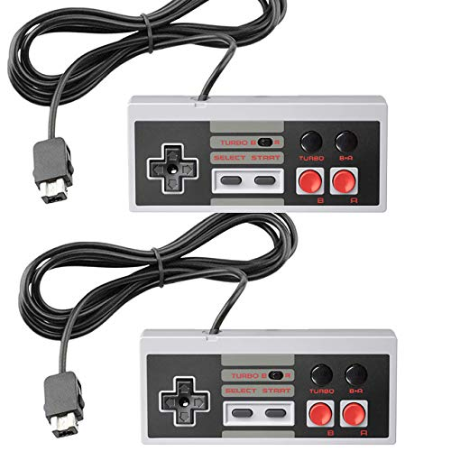 NES Classic Controller [Turbo Edition] for NES Classic Edition Mini,SNES Classic 2017 - Wired Joypad/Gamepad Console with 10 FT Cable [2020 Upgrade]