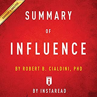 Summary of Influence: by Robert B. Cialdini | Includes Analysis cover art