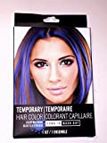 Temporary Hair Color Dye, Hot Pink, Cherry Red, Electric Blue Single Use, Colors May Vary