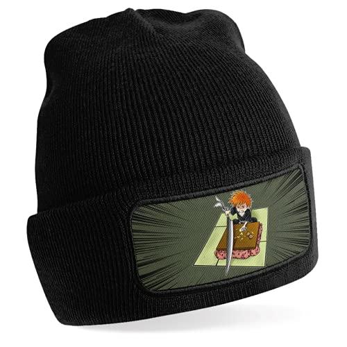 Okiwoki Mütze schwarz Parodie Bleach...